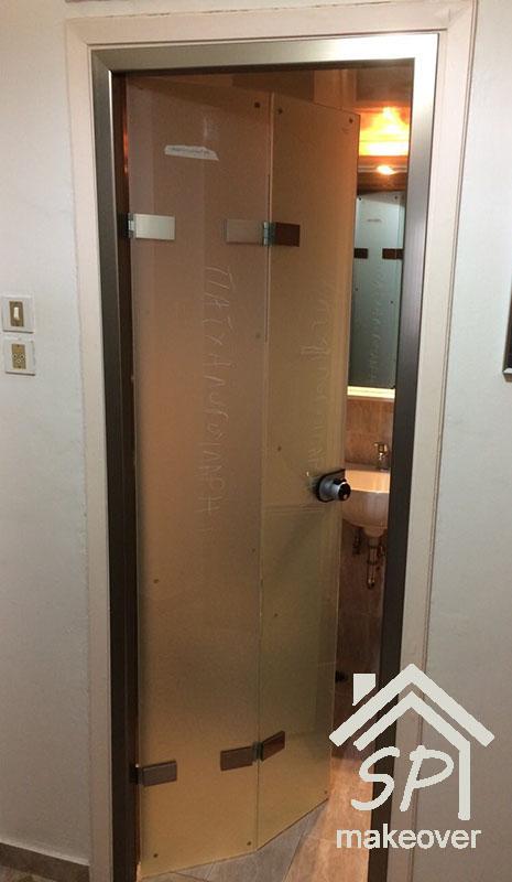 Εσωτερική πόρτα λουτρού